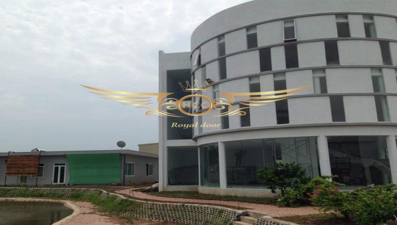 Lắp đặt công trình cửa nhôm kính cao cấp tại Thanh Hóa