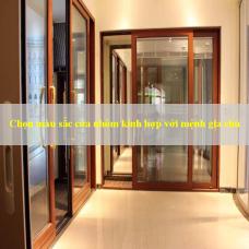 Chọn màu sắc cửa nhôm kính hợp với mệnh của gia chủ