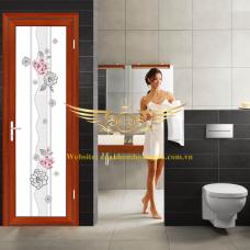 Mẫu cửa nào phù hợp với phòng tắm, phòng vệ sinh